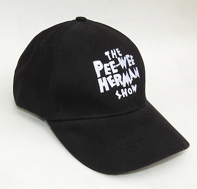 Pee Wee Herman Show Los Angeles 2010 Black Ball Cap Hat