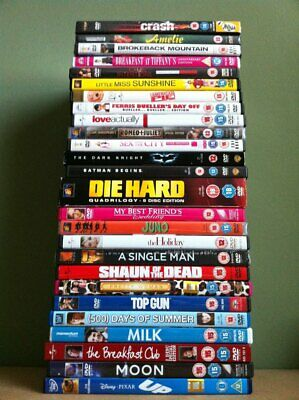 Lot of Eight (8) Random DVDs Lot Action Drama Comedy Foreign Film Documentary