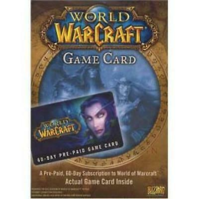 Activision World Of Warcraft Prepaid Timecard - License - 1 User - 60 Day - - -