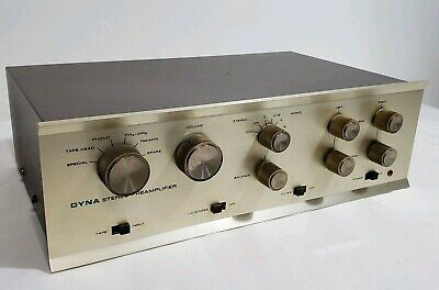 Vtg Electronics Dyna Dynaco Model PAS Stereo Preamp Preamplifier Clean Works