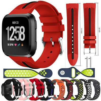 Classic Silicone Sports Replacement Watch Band Wrist Strap For Fitbit Versa Lite