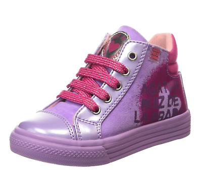Agatha Ruiz de la Prada Infant Girls UK 7 EU 24 Mini Lollipop Mauve Trainers