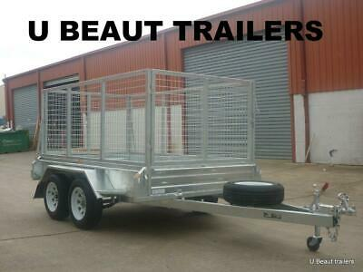 8x5 Tandem Trailer Heavy Duty Galvanised  2000kg GVM