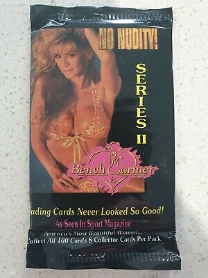 Bench Warmer Series 2 Trading Cards *Sealed Pack Of 8