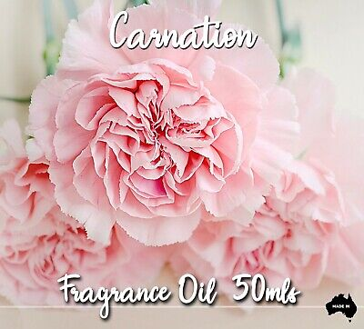 Carnation Top Quality Fragrance Oil, 50 Mls - Candles, Melts