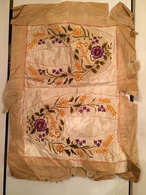 9fb3d548f3a RARE! Antique 19th.c. Hand Embroidered
