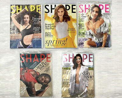 Lot of 2 Shape Magazines - January / February 2019 and March 2019
