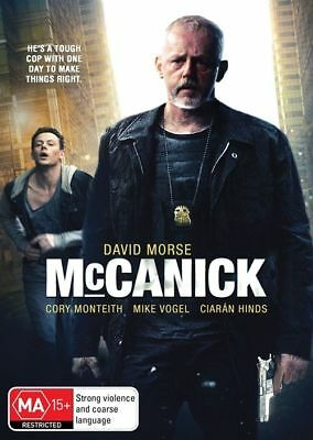 McCanick (DVD, 2013) // Ex-Rental // No Cover // Disc & Case only