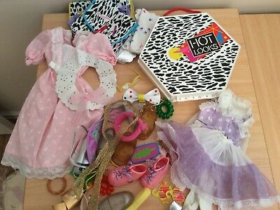 Vintage 1980's HOT LOOKS Doll Accessories and Clothing fits 57cm Doll