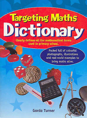 TARGETING MATHS DICTIONARY by GARDA TURNER, PAPERBACK - NEW