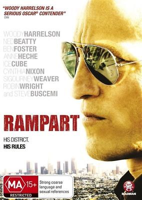 Rampart (DVD, 2012) // Ex-Rental // No Cover // Disc & Case only