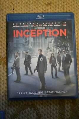 Inception 3-Disc Special Edition DVD-Blu Ray Clean disc