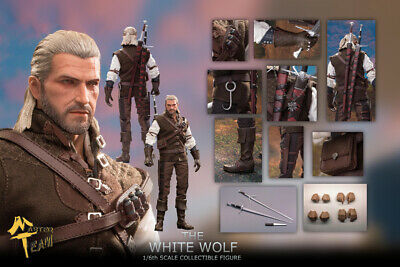 Pre-order 1/6 Scale MT The White Wolf MTTOY Geralt of Rivia Witcher