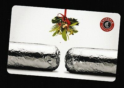 Chipotle no value collectible gift card mint #32 Ornament & Burritos