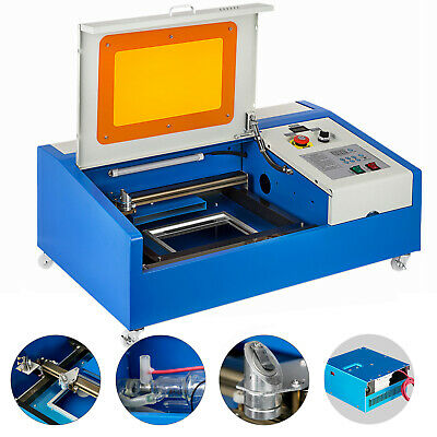 40W CO2 Laser Engraving Cutting Engraver Cutter Machine 12x8in Movable AU Stock