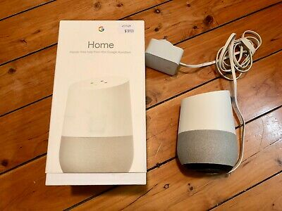 Google Home Smart Assistant, White Slate - perfect condition, barely used