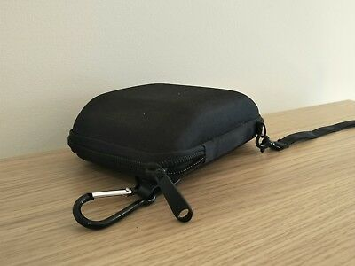 """5"""" Hard Shell Bag Case Carry Pouch Black For GPS Navigator Protective Camera"""