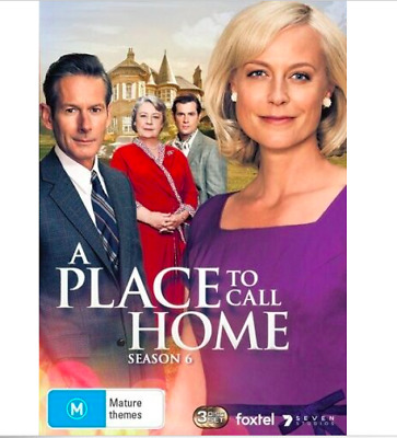 A Place to Call Home Season 6 (DVD, 2019)  New Sealed Region 4