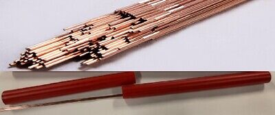 """ER70S2 Mild Steel TIG Welding Rods 5Ibs 1/8"""" Wire 70S2 1/8""""X36"""" with RED Tube"""