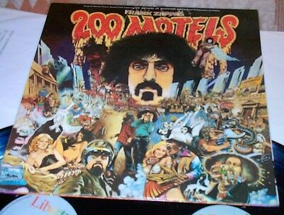 200 Motels FRANK ZAPPA NMint* FRENCH LIBERTY 2Lp Mothers Of Invention SOUNDTRACK