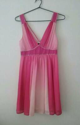 Ladies pink ombre Summer dress - Miss Shop, Myer brand (size 8) - FREE POSTAGE!