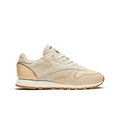 26f41401659 Reebok Classic Leather Golden Neutrals (VEGTAN-SANDTRAP) Women s Shoes  BD3744