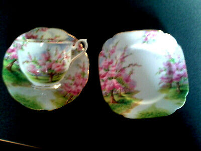 Royal Albert  Bloosom Time Cup Saucer Plate Trio