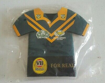 VB Gold Rugby League World Cup ARL Kangaroos Jersey  Daley 6 Stubby Holder New
