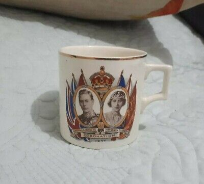 H M King George VI Coronation 1937 Cup Made In England