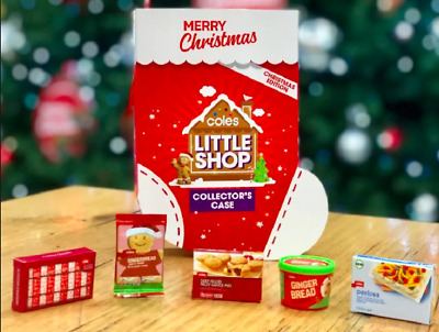 COMPLETE set of Coles LITTLE SHOP CHRISTMAS LIMITED EDITION with Collector Case