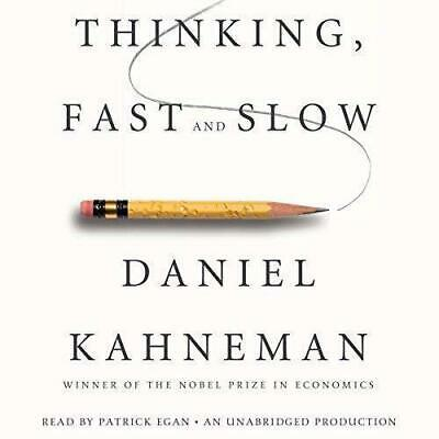 Thinking, Fast and Slow by Daniel Kahneman Unabridged Audiobook 🎧