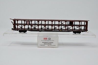 Micro-Trains MTL N-Scale 89ft Bi-Level Open Auto Rack Cotton Belt #84577