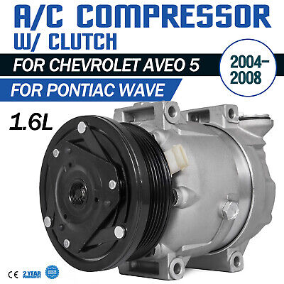 04-08 For Chevrolet Aveo//Aveo5 Pontiac Wave//Wave5  A//C Compressor /&Cluth 1.6L