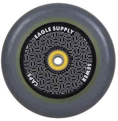 Eagle Sport Hardline 2Layer HollowTech Sewercaps Scooter Wheel -Grey/Black 115mm