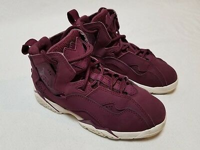 52cb014341a0e JORDAN BOYS' TRUE Flight (PS) Pre-School Shoe Bordeaux/ Sail (343796 ...