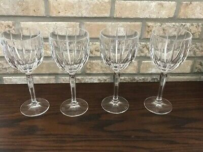 Marquis by Waterford Omega Crystal All Purpose Wine Glasses Goblet Set of 4