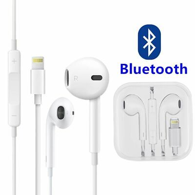 Earphones Earbuds for Apple iPhone 7, 8, X plus With Mic volume LIGHTNING