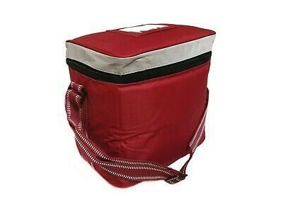Small Insulated Takeaway Delivery Keep Warm Bag (RED)