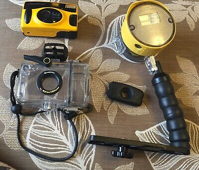 Sealife SportDiver 35mm Film Underwater Camera With External Flash