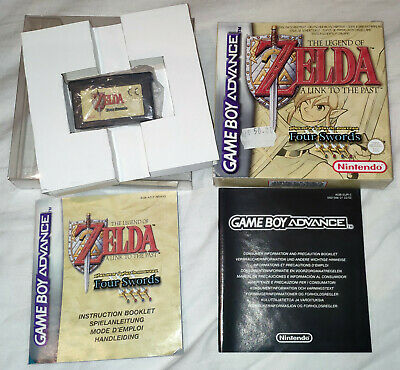Legend of Zelda - A Link to the Past [PAL] Game Boy Advance GBA Complete