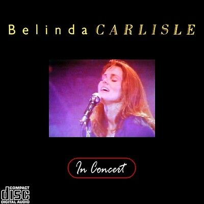 BELINDA CARLISLE @LIVE '88 CD The Go-Gos,Germs,Bangles,Susanna Hoffs FEMALE ROCK