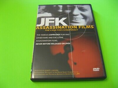 JFK Assassination Files:The Case for Conspiracy (DVD, 2003) rare john f. kennedy
