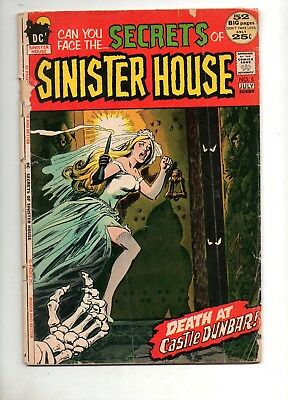 Secrets of Sinister House #5 RARE BRONZE GOTHIC HORROR 52-Page Giant 1972 Love 1