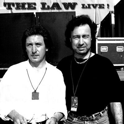 THE LAW @LIVE CD +2 Paul Rodgers,Free,Bad Company,The Small Faces,Who NWOBHM AOR