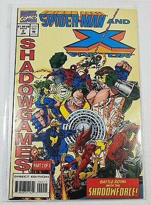 Marvel Comics Spiderman and X Factor #2 Shadow Games Part 2 of 3