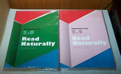 Read Naturally  Edition 2.0 & 2.5 Audio CD - 2 Sets