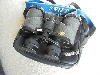 Swift 8.5x44 Audubon HR/5 Model 804 binoculars multi-coated with case/caps.