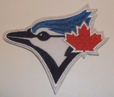 """Toronto Blue Jays Embroidered Applique PATCH~3 1/4"""" x 2 7/8""""~Iron Sew~Ships FREE"""