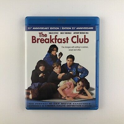 The Breakfast Club (Blu-ray, 2010) *Canada Import Region Free*