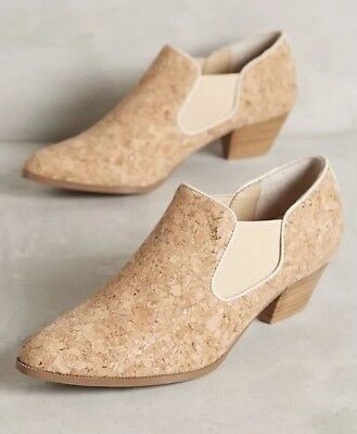 acaefc779ee NEW ANTHROPOLOGIE FARYLROBIN Chelsea Cork Boots Size 6.5 -  79.99 ...
